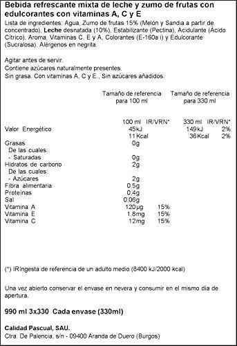 Bifrutas Zero ibiza zumo leche, Sabor Ibiza - 3x330 ml: Amazon.es: Alimentación y bebidas