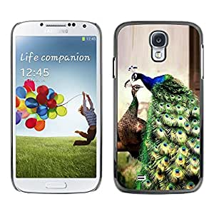 Plastic Shell Protective Case Cover || Samsung Galaxy S4 I9500 || Green Teal Blue Vibrant @XPTECH