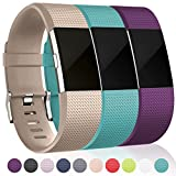 Bands for Fitbit Charge 2, Champagne Teal Plum, Small