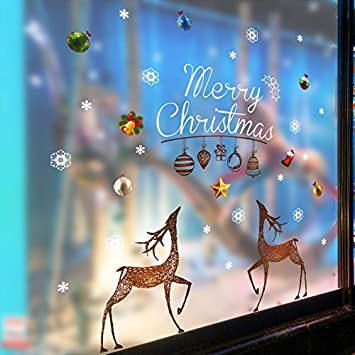 Glücklich Fröhlich Weihnachten - double Singen Christmas Rentier ...