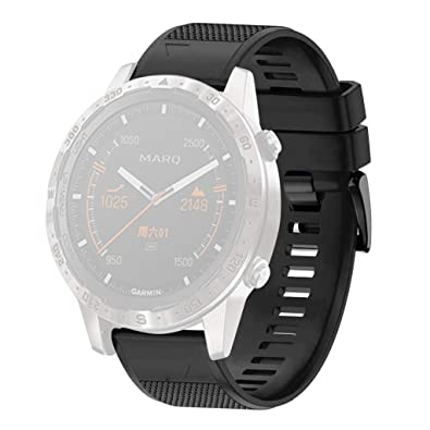 Amazon.com: BIYATE Smart Watch Band Compatible for Garmin ...