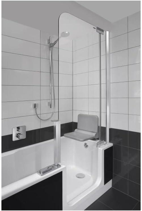Artweger Twin Line 2 Combi bañera ducha 170 cm Mampara de plata ...
