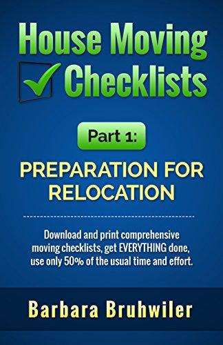 relocating checklist