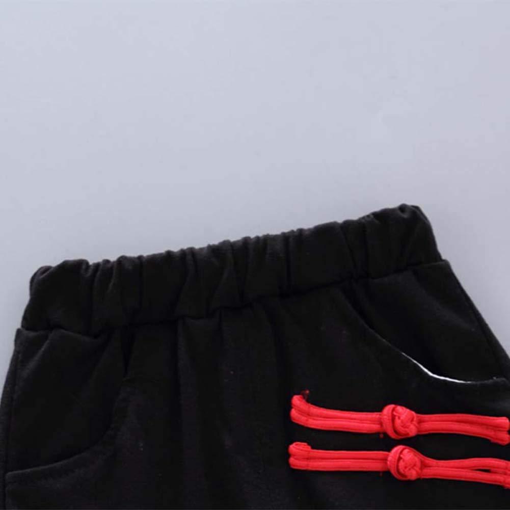 BOBORA Ensemble B/éb/é Gar/çons /Ét/é 2PCs Chemise T-Shirt /à Manches Courtes en Coton Shorts