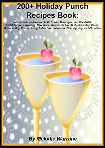 200 holiday punch recipes book bridal showerwedding new years valentines