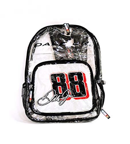 Dale Jr Backpack Earnhardt - NASCAR #88 Dale Earnhardt Jr Clear Backpack-NASCAR Backpack-NEW for 2016!