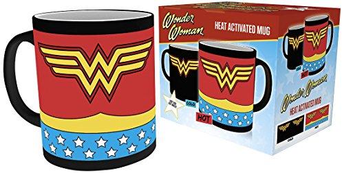 Dc Comics Comics, Wonder Woman Costume, Heat Changing Mug, Ceramic, Various, 15