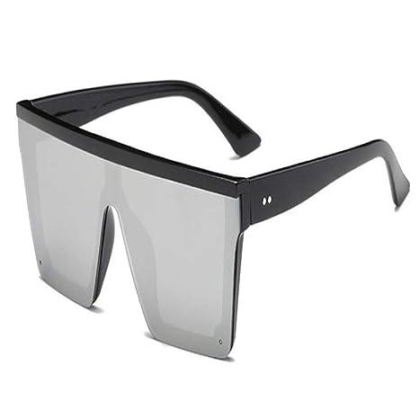 Yangjing-hl Gafas de Sol de Gran tamaño Mujeres Marco Grande ...