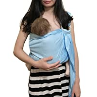 Vlokup Adjustable Baby Water Ring Sling Baby Carrier Infant Wrap with Aluminu...