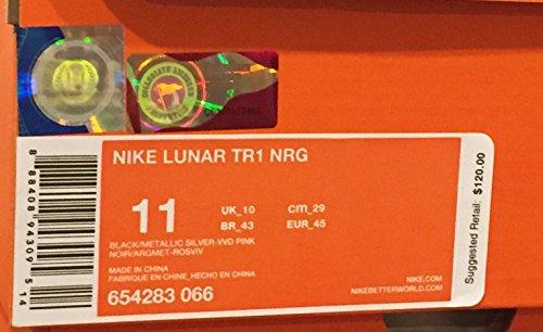 Zapatos para correr para hombre Lunar Tr1 Vivid 6542 3066 BLACK/METALLIC SILVER-VIVID PINK