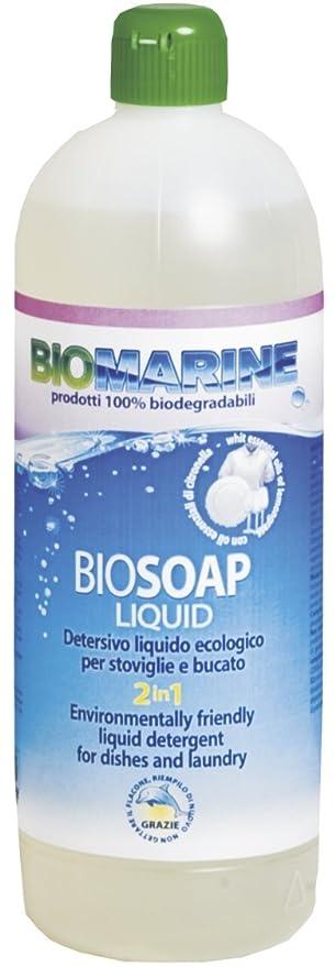 2 opinioni per Italia Marine Bio Soap 2 in 1 Detersivo Liquido per Stoviglie e Bucato,