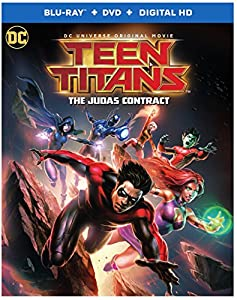 Cover Image for 'Teen Titans: Judas Contract [Blu-ray + DVD + Digital HD]'