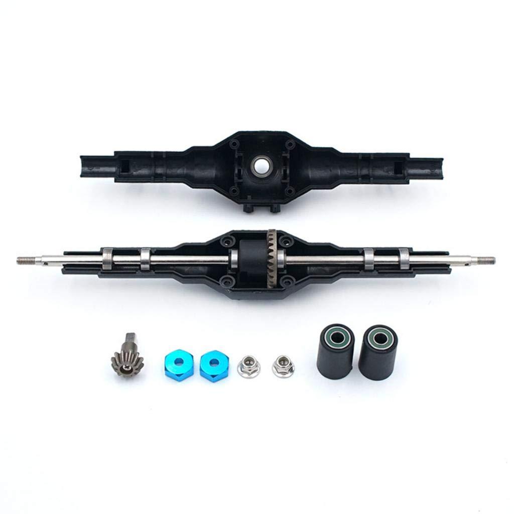 DollaTek Wltoys 12428 12423 Hinterachsgetriebe Rc Autoteile Metalldifferential f/ür 1//12 Rc verbesserte Teile