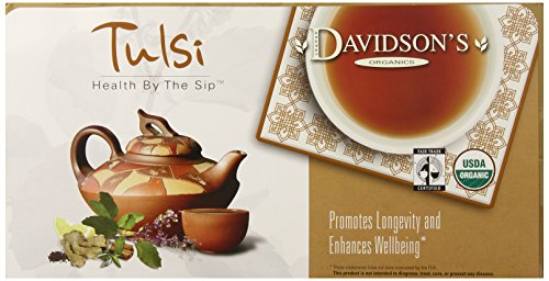Davidson's Tea Single Serve Tulsi Mango Peach, 100-Count Tea Bags
