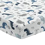 Lambs-Ivy-Baby-Dino-BlueWhite-Dinosaur-Nursery-6-Piece-Crib-Bedding-Set