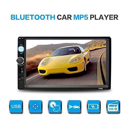 7-Inch HD Stereo Touch Screen with Bluetooth - Unplug