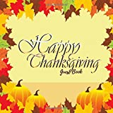 Celebrate this thanksgiving and preserve memories of this special event with our unique guest book Product Details: Introductory first Page to adapt Formatted lined Pages to write in with prompt ( I am grateful for)  Generous spaces for your ...