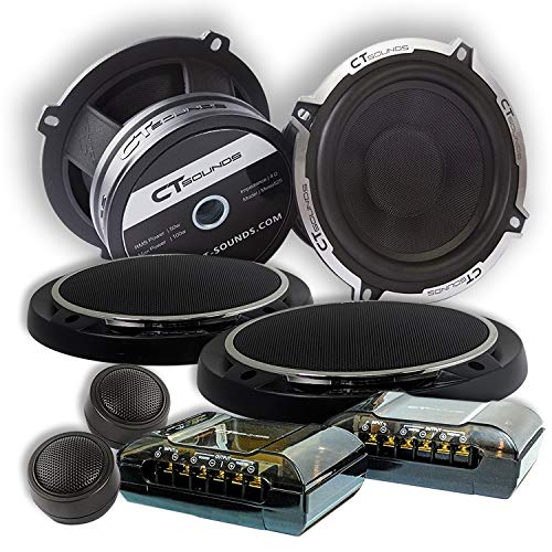 CT Sounds Meso 6.5 Inch 2 Way Silk Dome Full Range Coax Coaxial...