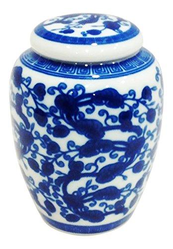 White Chinese Vases - 3