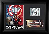 Film Cell USFC6318 Marvel's Captain America: Civil War S6 Minicell Framed & Matted