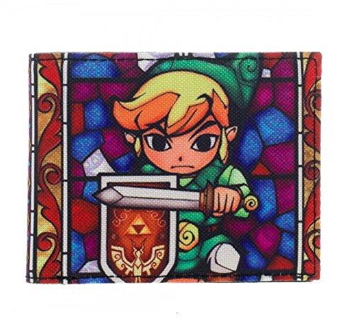 Legend of Zelda Wind Walker Link Cartoon Bifold Wallet