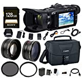 Canon VIXIA HF G40 Full HD 1080p Camcorder w/EOS Shoulder Bag for DSLR Cameras & 128 GB SD Card Bundle