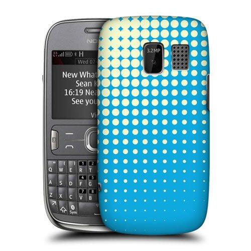 Head Case Designs Sky Halftones Protective Snap-on Hard Back Case Cover for Nokia Asha 302