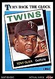 1989 Topps # 665 Turn Back The Clock Tony Oliva Minnesota Twins (Baseball Card) Dean's Cards 8 - NM/MT Twins
