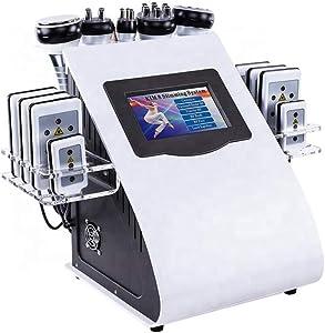 UANGECARE 6 in 1 Body Shaping Massage Instrument Professional 40K Fat Massage RF Vacuum Machine