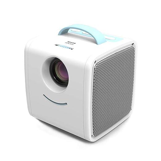 FOONEE HD 1080P Mini Pico Projector, Creative Home LED Projector ...