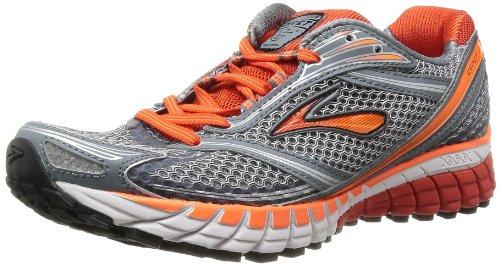 """BROOKS Ghost 6 Men's Running Shoes, Grey, UK6.5"""