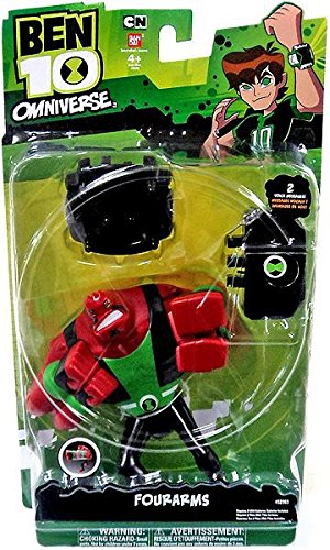 Ben 10 Omniverse Fourarms Voice and Feature Figure