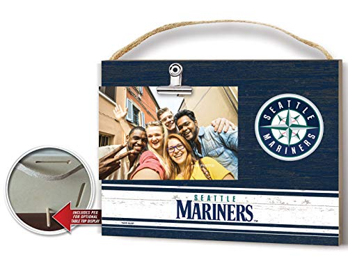 (KH Sports Fan Clip It Colored Logo Photo Frame Seattle Mariners )