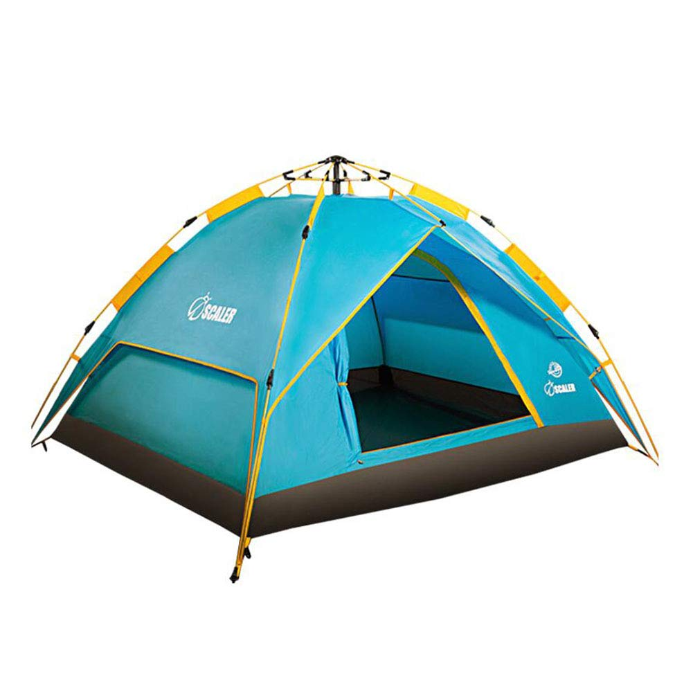 DALL テント テント インスタントテント 自動 クイックポップアップ 抗UV 防水 アウトドア キャンプ   B07GSM3VF5