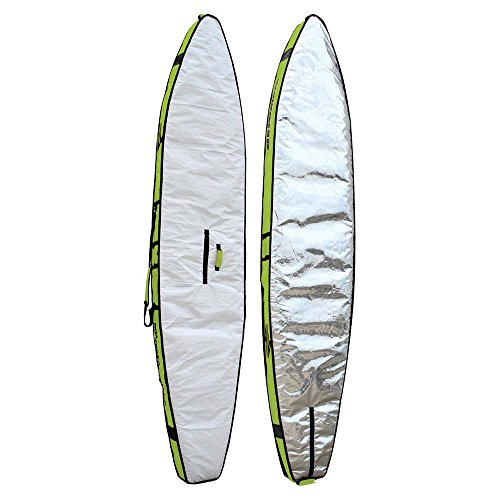 Boardworks Stand-Up Paddle Board Race Bag 12'6'' | Grey/White by Boardworks Surf