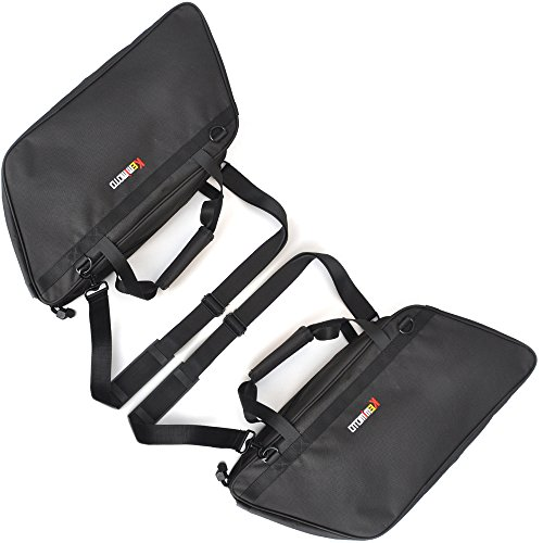 KEMIMOTO Removable Saddlebag Liner for Harley Touring Models Road King GL1800 Kawasaki Vulcan 1700 Victory Honda by KEMIMOTO (Image #2)