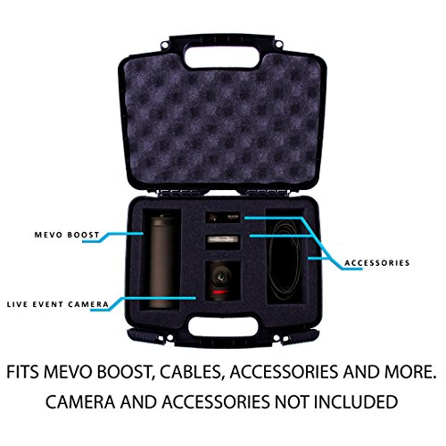 Casematix Protective Hard Camera Case With Customizable