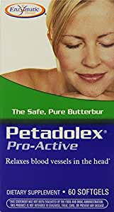 Enzymatic Therapy Petadolex, 60 Softgels