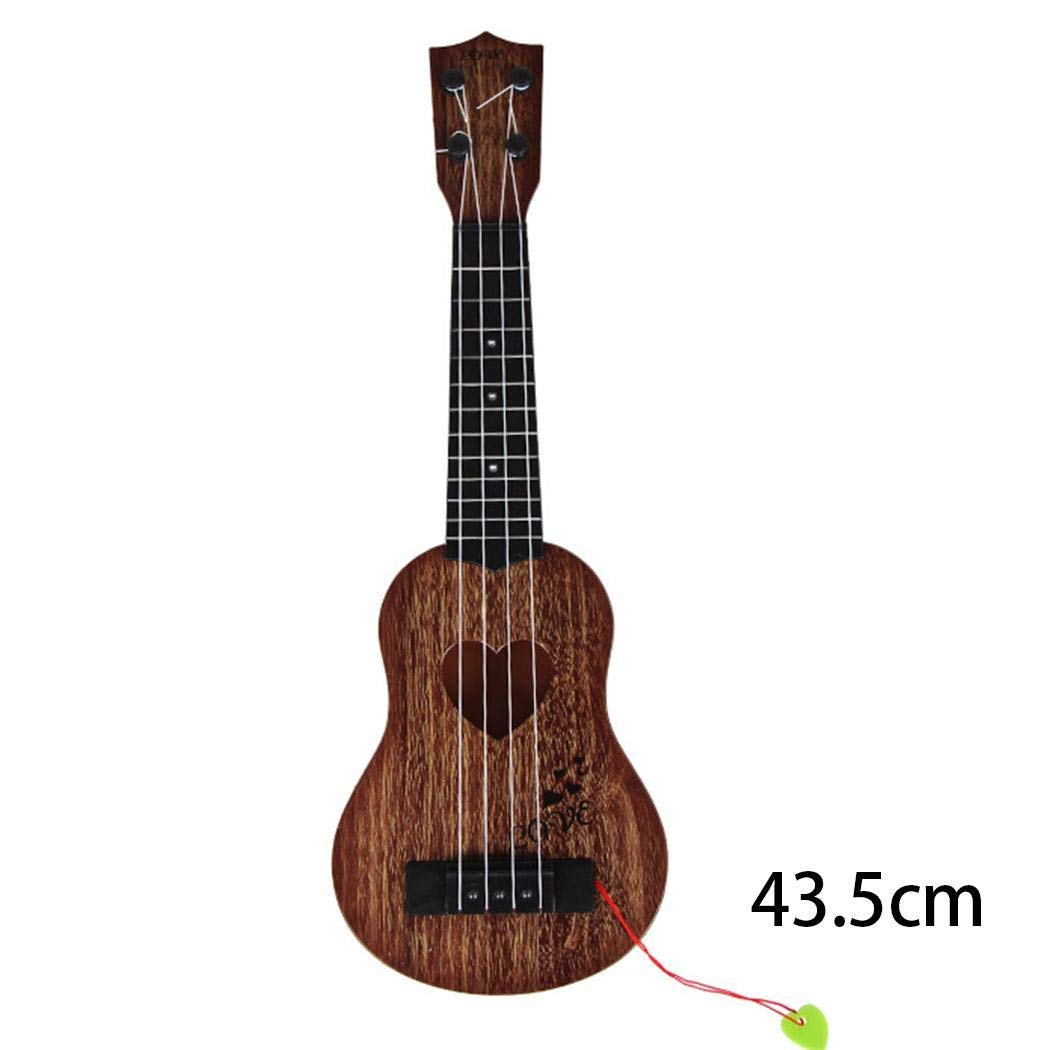 Fanala Kids Children Can Play Simulation Guitar Toy Musical Instruments Toys Guitars & Strings by Fanala