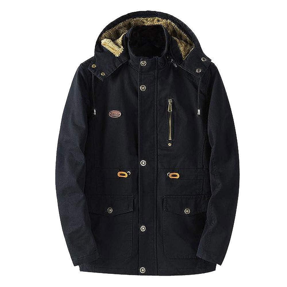 Mens Winter Overcoat /& Outwear Slim Cool Warm Coat Men Blouse,Dartphew