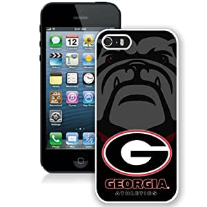 Fashionable And Durable Designed Case For iPhone 5 With Southeastern Conference SEC Football Georgia Bulldogs 2 (2) Phone Case