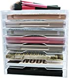 Large Acrylic Palette Organizer By Skin Radiance - Superiror Quality Makeup Organizer For Easy Storage . Lifetime Guarantee! Get Yours Now