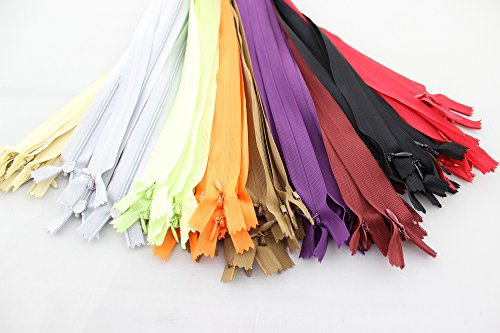 Annic Assorted Colors Invisible Zippers product image