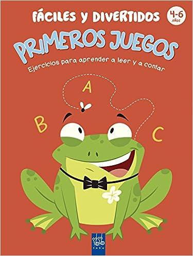 Primeros juegos fáciles y divertidos: 4-6 años. Ejercicios para aprender a leer y a contar 1001 actividades: Amazon.es: YOYO, Editorial Planeta S. A.: ...
