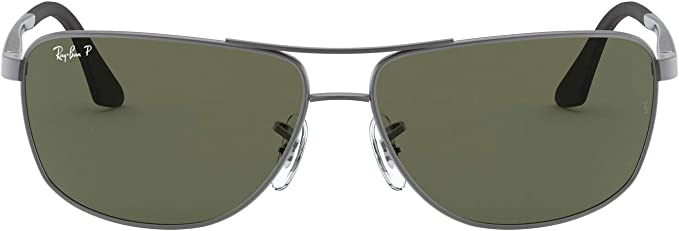TALLA 64. Ray-Ban - RB 3506,Geométrico metal hombre