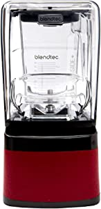 Blendtec Professional 800 Blender with Wildside+ (Red)