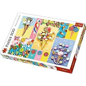 Trefl 37335 Puzzle Per Caramelle Preferite 500 Pezzi Multicolore