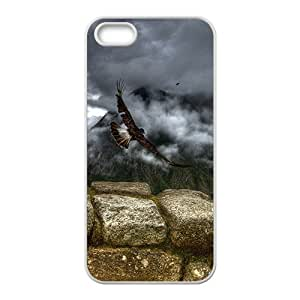 Fly To My World Eagle Hight Quality Plastic Case for Iphone 5s