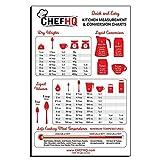 CHEFHQ Kitchen Conversion Chart Magnet