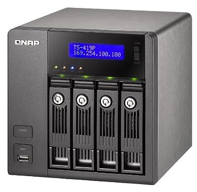 QNAP 4-Bay Desktop Network Attached Storage TS-419P